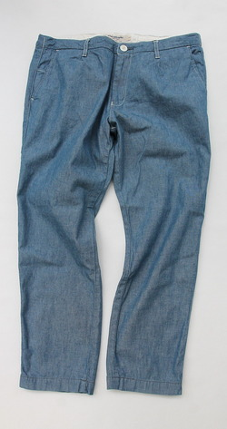 FOB Carlo Chambray Trousers