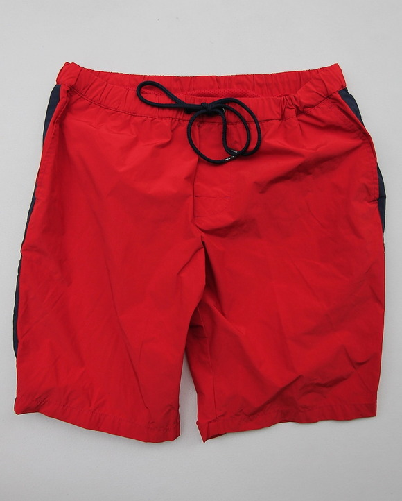 MIDA Nylon Shorts with Linner RED X NAVY