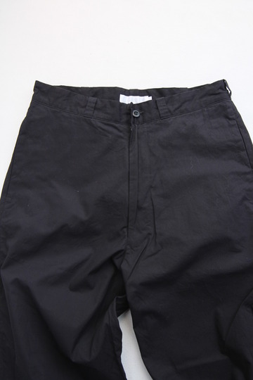 RICEMAN Tapered Pants BLACK (6)