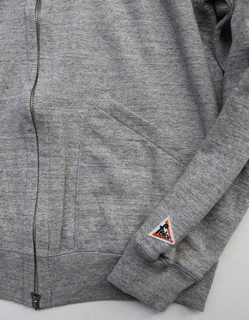 Felco French Terry Award Zipfront Jacket HEATHER GREY (5)