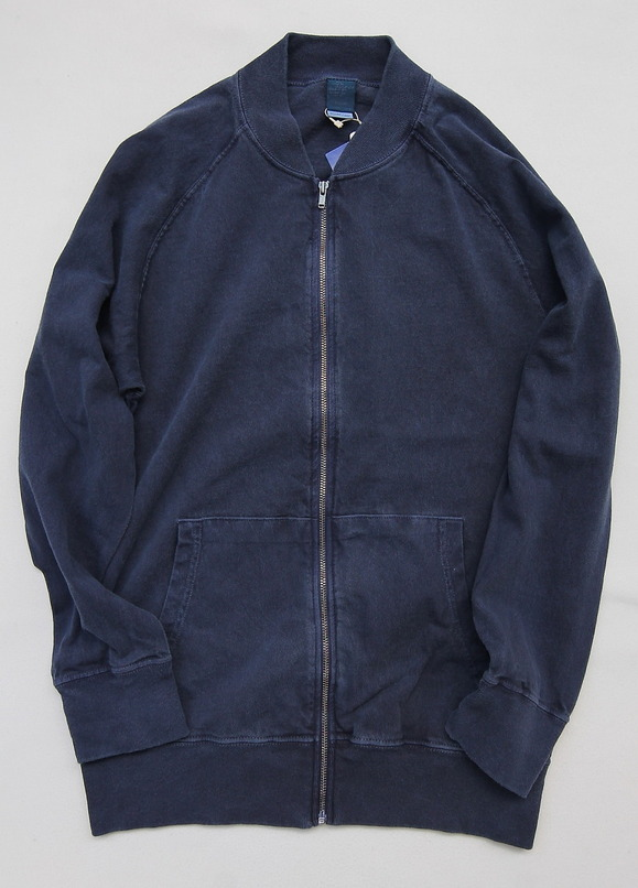 Goodon Zip Tee Jkt P NAVY