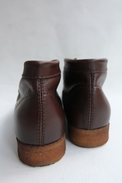 HTS Upper Sheep Skin Wallabee D BROWN (8)