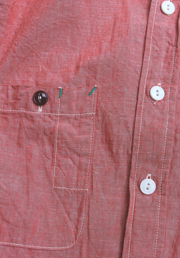 FOB Chambray Work Shirt RED (3)