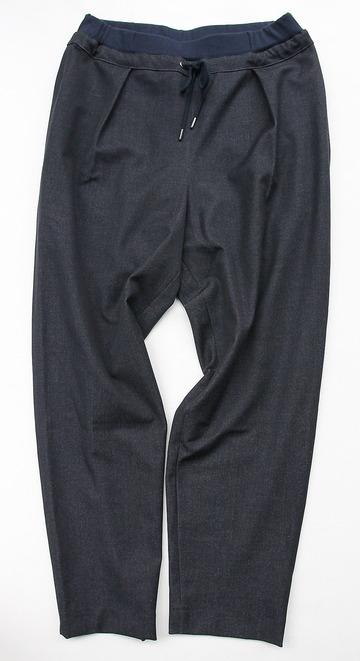 Le Ciel de Harriss T Rayon Tuck Easy Pants NAVY (5)