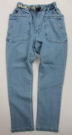 Chums Stretch  Camping Denim Pants  LIGHT INDIGO (5)