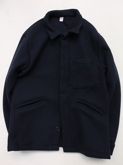 MADE IN ITALY Wool & Cashmere Work Jacket NAVY (2)