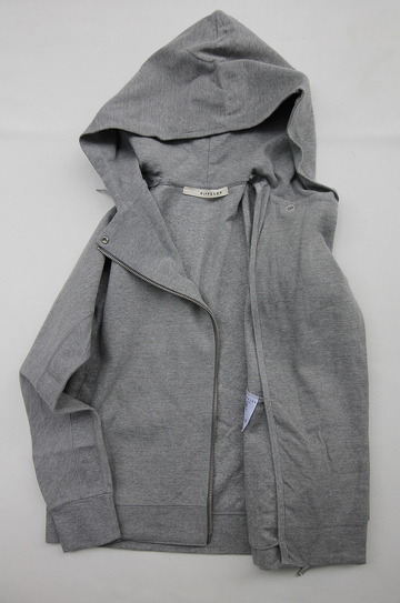 Rappeler Jersey Hooded Riders HEATHER GREY (3)