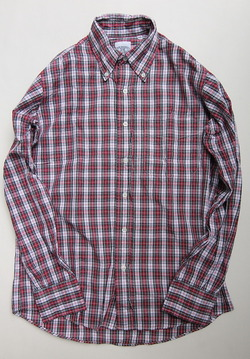 The Baggy Broadcloth Tartan BD Red Plaid RED