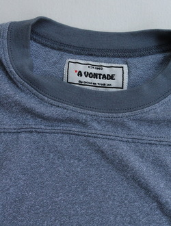A VONTADE Football Tee SS HEATHER BLUE (2)