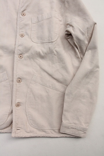 KESTIN HARE Neist Overshirt Cord WINTER WHITE (4)