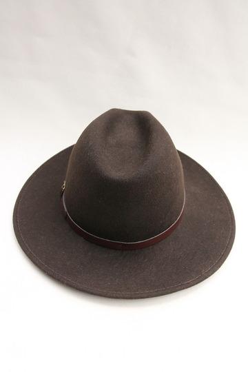 SORBATTI Mens Crushable Felt Hat BROWN (4)