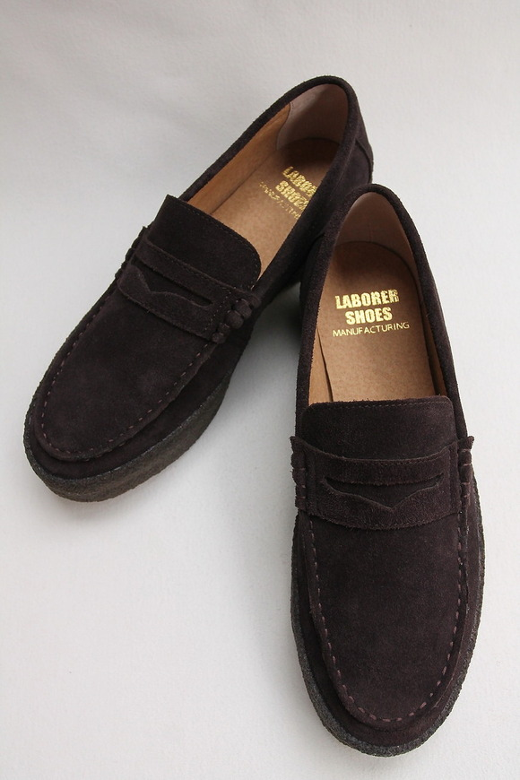 LABORRER SHOES Mudguard Loafer BROWN (3)