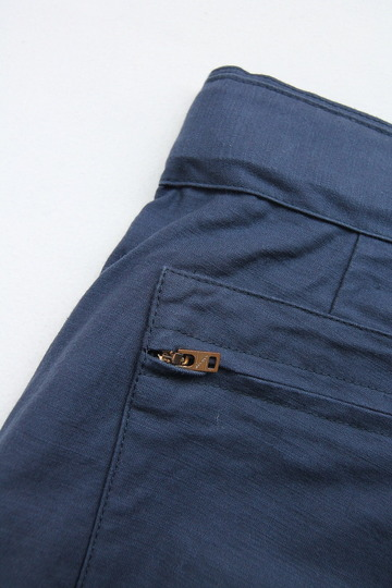 ARAN Belt Pants NAVY (3)
