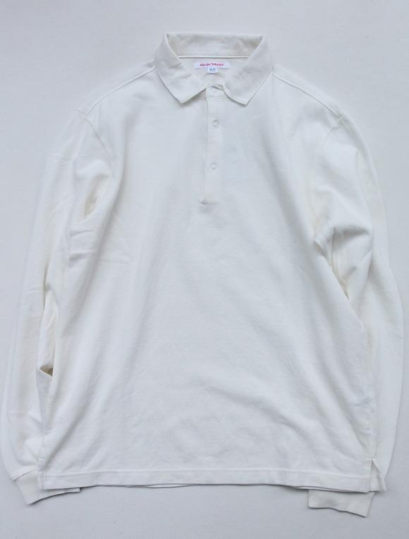 NOUN LS Polo WHITE