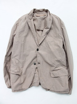 Vasy Lettlement Side Vents Tailored Jacket ASH BEIGE