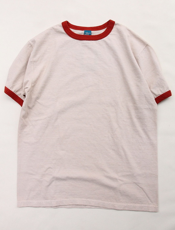 Goodon Retro SS Ringer Tee ORANGE