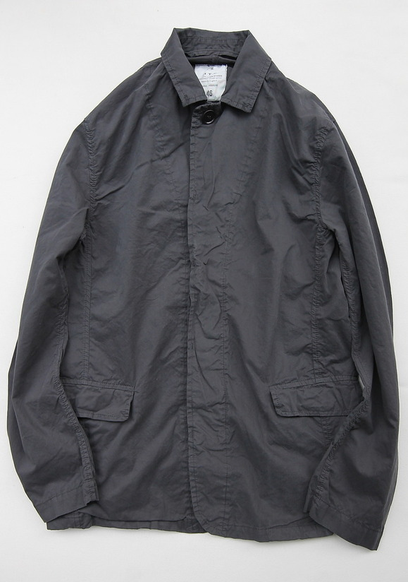 Harrow Town Stores Cotton Jacket OFF BLACK