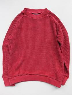 Goodon Crew Cotton Sweater P RED