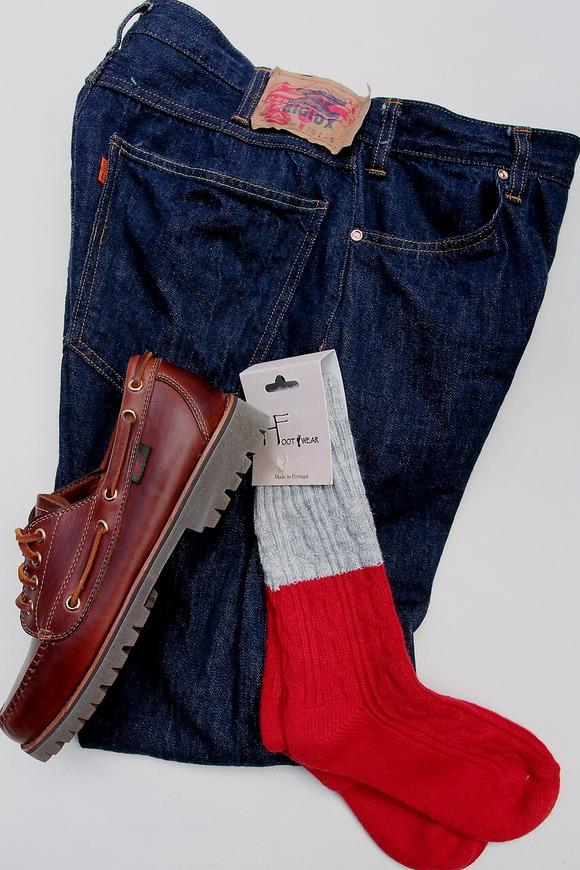 H Footwear Regiment RED & GREY