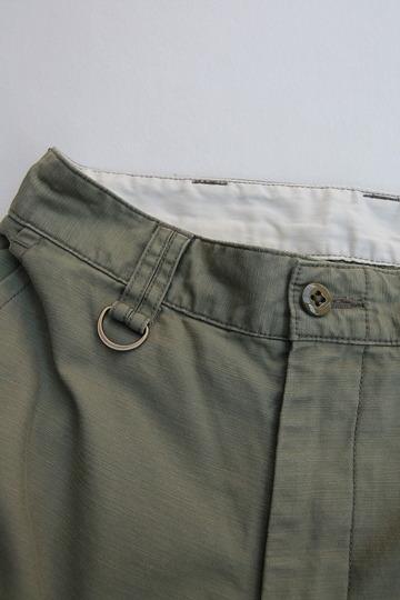 Le Ciel de Harriss Back Satin Loose Fit Pants OLIVE (2)