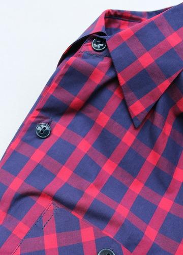 NOUN Check Shirt RED Check (4)