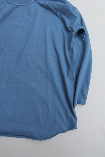 Goodon Baseball Tee SMOKE BLUE (3)