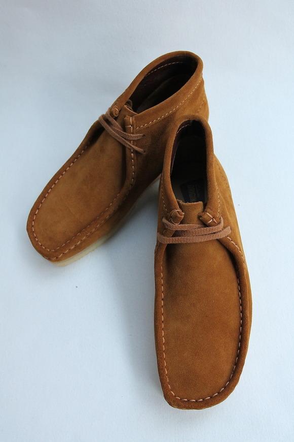 Clarks Wallabee Boot BRONZE (3)