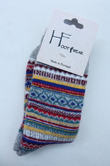 H Footwear Fair Isle GREY (3)