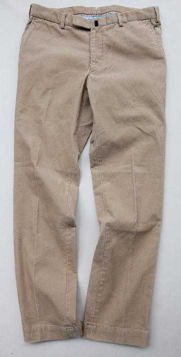 DC WHITE Corduroy Basic Pants BEIGE (6)
