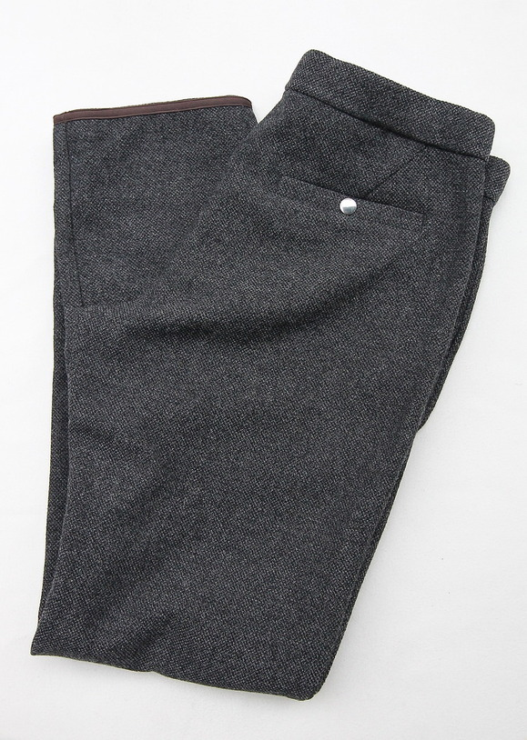 coochucamp Happy Slacks Pants GREY Tweed