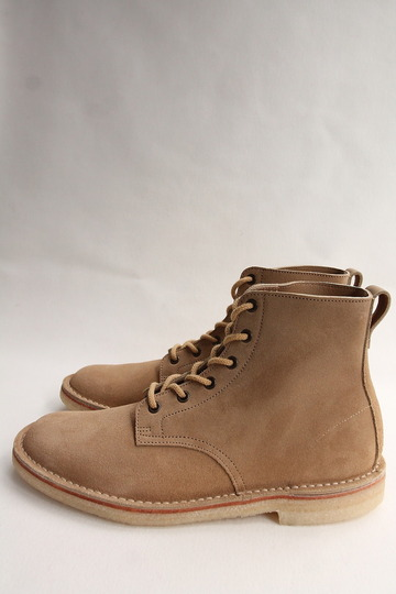 Suffolk Shoes Desert Hi Top SAND Suede (5)