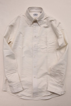 THE BAGGY Oxford BD WHITE