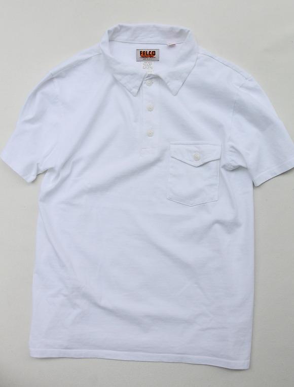 FELCO Pocket Polo WHITE (2)