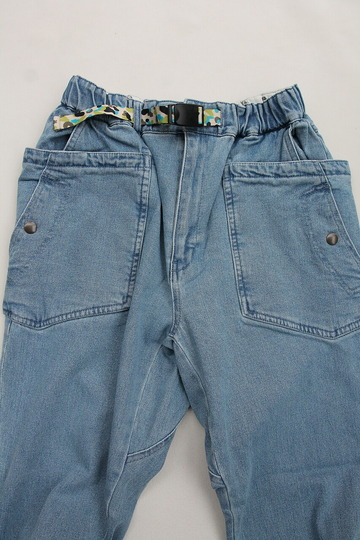 Chums Stretch  Camping Denim Pants  LIGHT INDIGO (3)