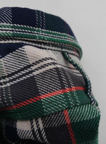 Harriss Short Wide Collar HW Nel GREEN (4)
