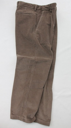 Riccard Metha Cordhuroy 1 Tuck Wide Trousers BEIGE (6)