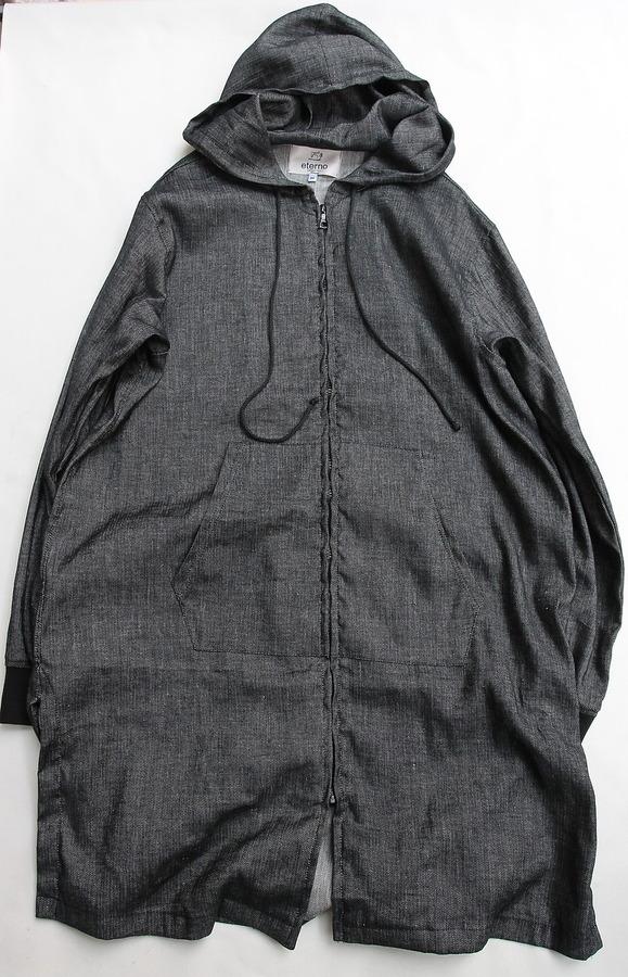 eterno Hood Coat AST 00 BLACK