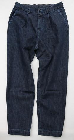 RM Mens Tuck Trouser INDIGO (7)