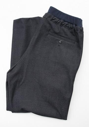 Le Ciel de Harriss T Rayon Tuck Easy Pants NAVY