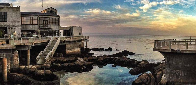 Back Deck of Monterey Bay Aquarium