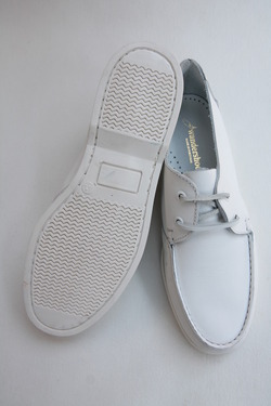 Wandershoes Leather Deck WHITE (7)