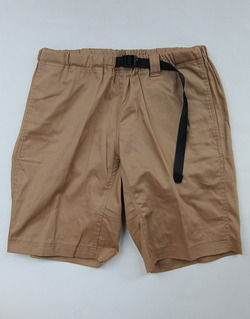 Boulder Mountain Style Cotton Shorts V TAN
