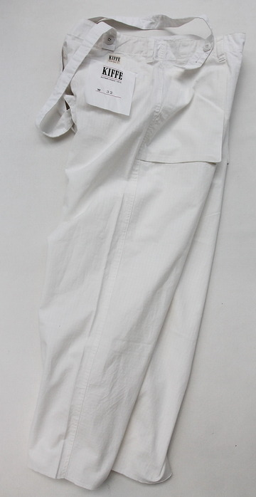 KIFFE Wide Baker Pants WHITE (6)