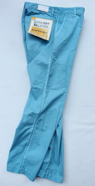 Sunlight Believer 9 Length Chino BLUE (6)