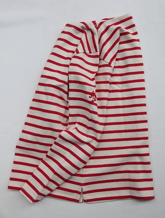 TENJIKUYA LS Border Tshirt NTL x RED (2)