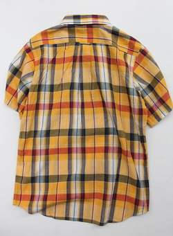 SERO PO Button Down Shirt SS ORANGE (6)