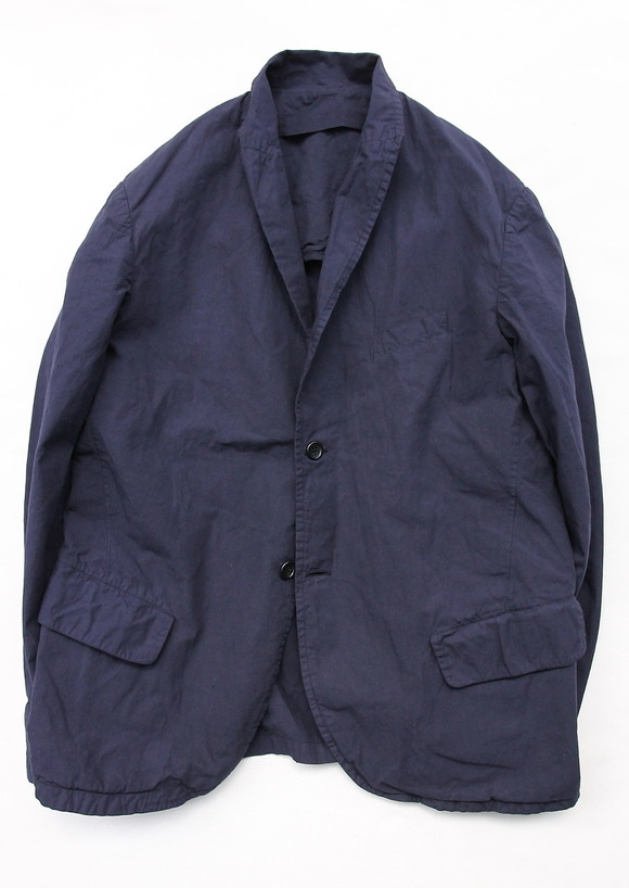 Vasy Lettlement Side Vents Tailored Jacket MIDNIGHT