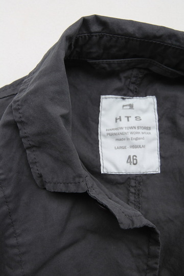 Harrow Town Stores Cotton Jacket OFF BLACK (5)