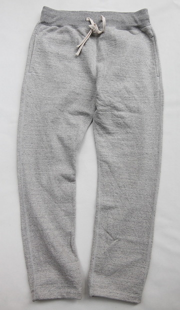 Felco Gym Pants Heavy Weight Terry HEATHER GREY (3)
