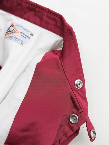 Felco Nylon Coach Jacket BURGUNDY (4)